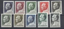 Jugoslawien 1280/1289 ** - Unused Stamps