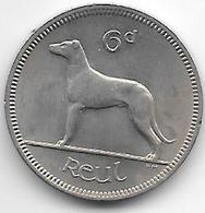 *ireland 6 Pence 1967  Km 13a  Xf+ - Irlande