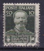 LOTTO REGNO  A3 1929 RO° ANNIVERSARIO DELLA MORTE DI VITTORIO EMANUELE II - Usati