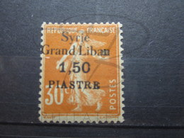 VEND BEAU TIMBRE DE SYRIE N° 94 , SURCHARGE ECRASEE A DROITE , XX !!! - Syrie (1919-1945)