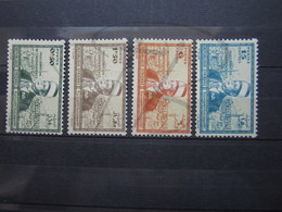 VEND BEAUX TIMBRES DE SYRIE N° 260 - 263 , X !!! - Syrie (1919-1945)