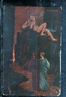 CARTOLINA VIAGGIATA ART ARTE SIGNED EZIO ANICHINI THE DIVINE COMEDY DANTE INFERNO CAP XII CRETE INFAMY POSTCARD - Illustratoren & Fotografen