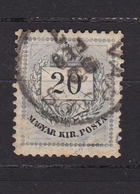 Hongrie Timbre N° 31° - Gebraucht