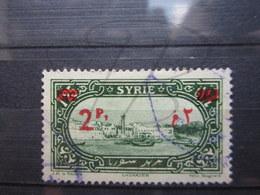 """VEND BEAU TIMBRE DE SYRIE N° 189 , VIRGULE APRES """" P """" !!! - Oblitérés"""