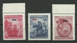 Jugoslawien 575/577 ** - 1945-1992 Socialist Federal Republic Of Yugoslavia