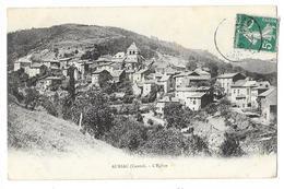 Cpa: 15 AURIAC L'EGLISE (ar. Saint Flour) Vue Du Village 1910 - France