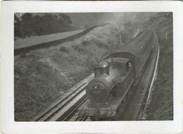 Railway Photo LMS 2P 10622 Luddendenfoot L&YR Aspinall 1008 Class 2-4-2T Loco - Eisenbahnen