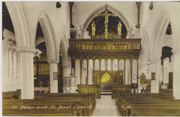 Postcard - St. Peter And St. Paul Church Interior, Eye - VG - Unclassified