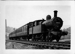 Railway Photo LMS 2P 10886 L&YR Aspinall 2-4-2T Loco Lancashire + Yorkshire - Eisenbahnen