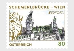 H01 Austria 2018 Europa Bridges MNH Postfrisch - 1945-.... 2a Repubblica