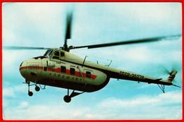 Aviation Export Of Helicopters 4 Aviation Aeroflot USSR Export Advertising Clean - Elicotteri