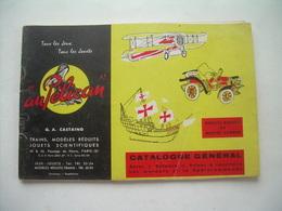 """""""AU PELICAN"""" Catalogue Général Année ?? AUTOS, BATEAUX, AVIONS à Construire...80 Pages JOUETS, MODELES REDUITS - France"""