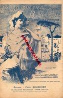 ESPAGNE- LA BOUQUETIERE DE BARCELONE- PARTITION MUSIQUE SERENADE -SUZETTE DESTY-CHARBLAY-GARDONI-JARDIN- - Partitions Musicales Anciennes