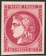 ** No 49b, Rose Vif, Superbe. - R - 1870 Bordeaux Printing