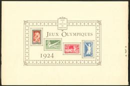 (*) Epreuve Collective. Jeux Olympiques. Nos 183 à 186, Avec Perforation De Contrôle Et Rabat, Pli D'angle Sinon TB. - R - Luxury Proofs