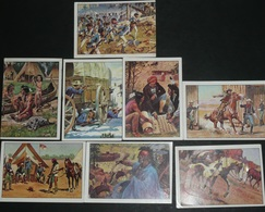 Lot Images Autocollantes Autocollant Figurine PANINI, Fin Des Années 1970's, WEST Western Indiens Cow-boys - Edizione Italiana