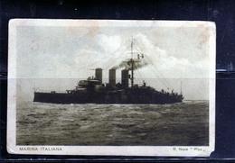CARTOLINA VIAGGIATA IN ITALIA 9 10 1915 POSTA MILITARE NAVE REGIA PISA CARD - Guerra