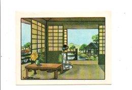 CHROMOS BON POINT - HABITAT HUMAIN - MAISON JAPONAISE - Chèques & Chèques De Voyage