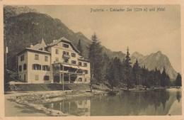 TOBLACHER-DOBBIACO-BOZEN-BOLZANO-UND HOTEL-CARTOLINA ANNO 1910 - Trento