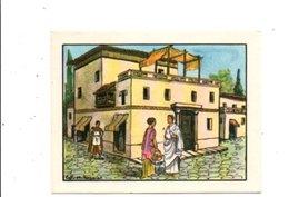CHROMOS BON POINT - HABITAT HUMAIN - MAISON ROMAINE - Chèques & Chèques De Voyage
