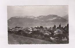 CPA PHOTO DPT 74 SEVRIER, LAC D ANNECY ET MONT VEYRIER En 1959! - Autres Communes