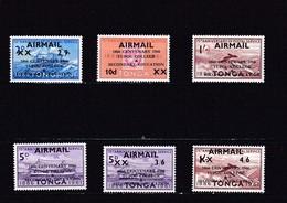 Tonga Nº A16 Al A21 - Tonga (1970-...)