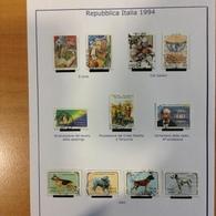 Italie Année 1994 - Oblitérés - N° 2041 à 2080 + 2082 à 2099 - 1946-.. République