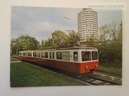 D161195  Hungary Budapest Fogaskerekű Vasút -Ferrocaril -Zug Der Zahnradbahn -  1973   Postcard Issued In 1982 - Trains