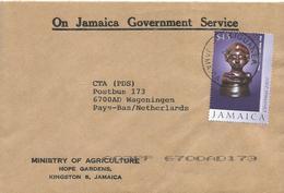 Jamaica 2004 Liguanea Madonna Child Scuplture Art Official Cover - Jamaica (1962-...)