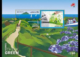 Açores Portugal 604 Et F605 Europa, écologie, Nature - Europa-CEPT