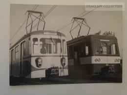 D161197  Hungary Budapest M IX , M X  DDR Electric Train  -Zug Der  Vororthbahn    Postcard Issued In 1982 - Trains