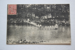 CASTELNAUDARY. Fêtes Du 2 Juillet 1905.   Championnat De Joutes    Sous Les Armes - Castelnaudary