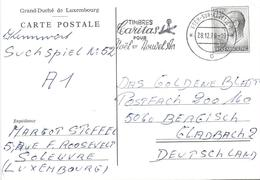 Luxembourg 1979 Esch Sur Alzette Ganzsache Postal Stationary Card - Postwaardestukken