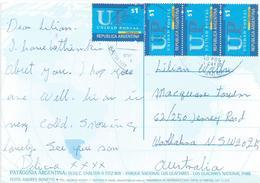 Argentina 2004 Laprida Patagonia Viewcard - Brieven En Documenten