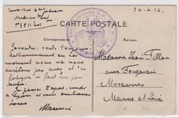CP - TRAIN SANITAIRE S.-P. EST N°11  (30.4.16) - Marcophilie (Lettres)