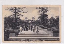 CATANIA. VILLA BELLINI. INGRESSO PRINCIPALE. ED S VITRO CIRCA 1920's UNUSED- BLEUP - Catania