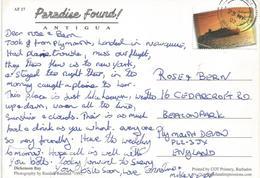 Antigua & Barbuda 2002 Cruise Ship Viewcard - Antigua En Barbuda (1981-...)