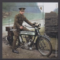 Jersey 2018 - Armistice & Remembrance Miniature Sheet - Unmounted Mint NHM - Jersey