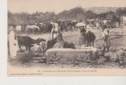 Israel, La Fontaine Ou A été Puissée L'eau Du Miracle à Cana En Galilée - Postkaarten