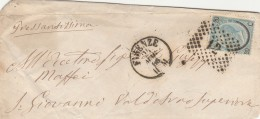 LETTERA 1866 CON 20 CENT SS FERROCAVALLO TIMBRO FIRENZE (Z305 - Storia Postale