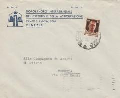 LETTERA 1944 RSI CON CENT.30 SS TIMBRO VENEZIA (Z330 - 4. 1944-45 Repubblica Sociale
