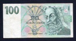 Banconota Repubblica Ceca 100 Corone Circolata 1997 - Repubblica Ceca