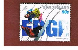 NUOVA ZELANDA (NEW ZEALAND) - SG 2752  -  2004 EXTREME SPORTS: SNOWSPORTS -  USED° - New Zealand