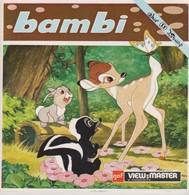 Viewmaster, Bambi - Jouets Anciens