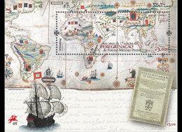 Portugal 2014 - 400 Years Of The 1st Edition Of Peregrinação Souvenir Sheet Mnh - Neufs