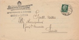 LETTERA 1936 CON 25 CENT. TIMBRO SIENA (Z434 - Storia Postale