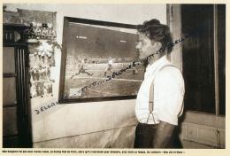 FOOTBALL : PHOTO (1949), CRASH AERIEN DU TORINO, MILO BONGIORNI, L'UNE DES VICTIMES, QUAND IL JOUAIT AU RACING PARIS - Calcio