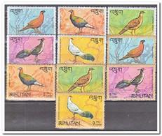 Bhutan 1968, Postfris MNH, Birds - Bhutan