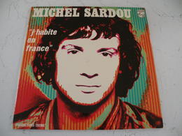 Michel Sardou -  (Titres Sur Photos) - Vinyle Album 33T - Vinyl Records