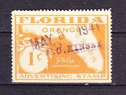 USA, Florida, Orange, Werbemarke, 1941 (56909) - Seals Of Generality